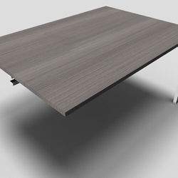 Astro Rectangular Office Meeting Table Add On Unit