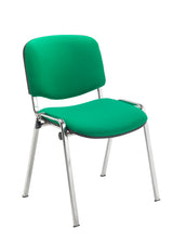 Club visitor/meeting chair chrome frame - Price Includes FREE Mainland UK Delivery - Min order 2