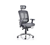 Mirage Mesh Task Chair in Black with Head Rest Option