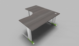 Couleur 90° Symmetrical Top Office Desk