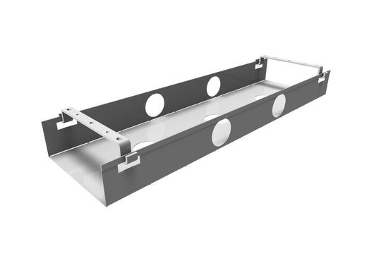 Double Metal Cable Tray for Bench Desks