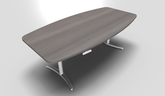 Envol Barrel Shaped Office Meeting Table