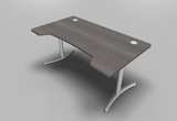 Envol Double Wave Top Height Adjustable Office Desk