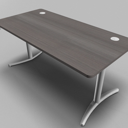 Envol Straight Top Height Adjustable Office Desk