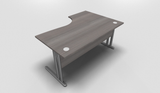 Essentiel Compact Top Office Desk with MFC Modesty Panel