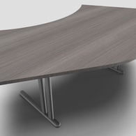 Essentiel Double 120° Symmetrical Top Office Desk