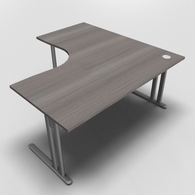 Essentiel Double 90° Symmetrical Top Office Desk