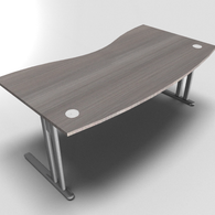 Essentiel Double Wave Top Executive Desk