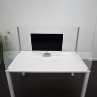 Deluxe 3 Sided Acrylic Desk Top Screen