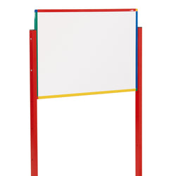 Junior Mobile Tilting Whiteboards with a White or Red Frame