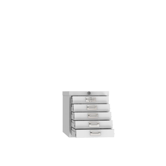 5 Drawer Steel Multi drawer cabinet - Price includes delivery to your door*