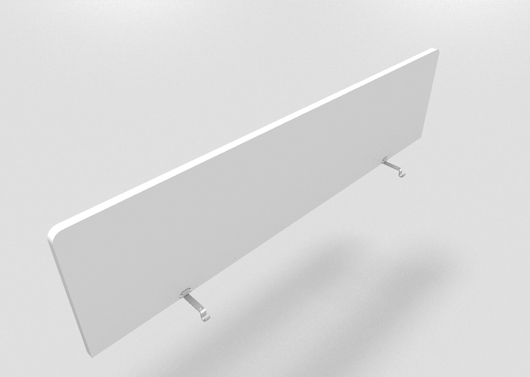 MFC Fixed Screen Divider for Bench Desks