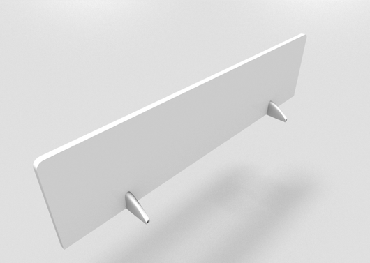 MFC Removable Screen Divider for Office Desks
