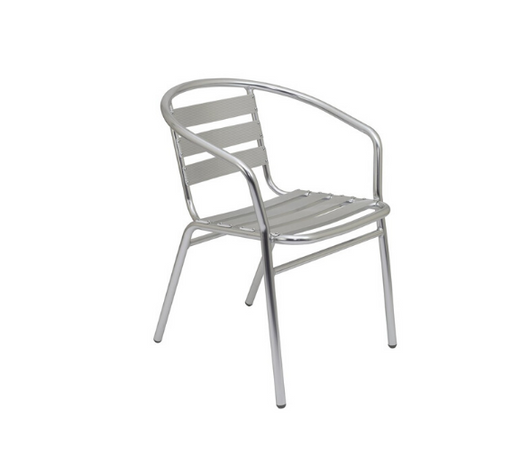 Plaza Aluminium Armchair for indoor or outdoor use - Includes FREE Mainland UK Delivery