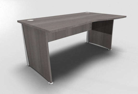Osmose Wave Top Office Desk with Panel Leg
