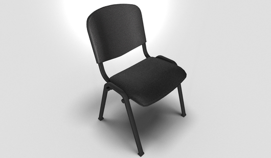 Pratique Visitor Chair in Black or Grey