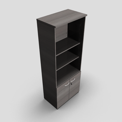 Quietude MFC Bookcase with Drawers Option