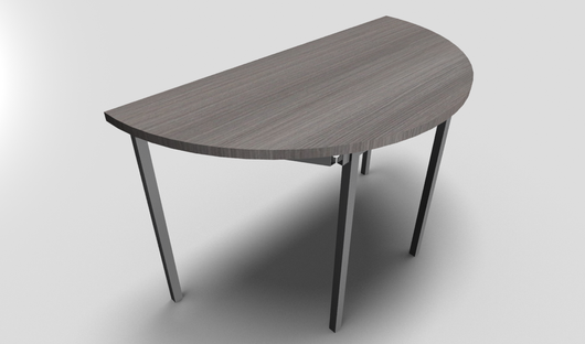 Rencontre Half Moon Meeting Table