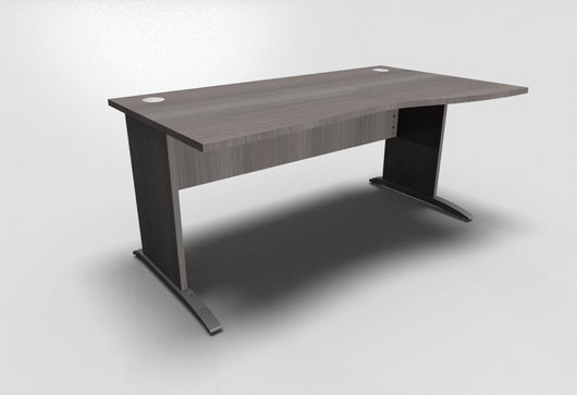 Retro Wave Office Desk with Cantilever Leg