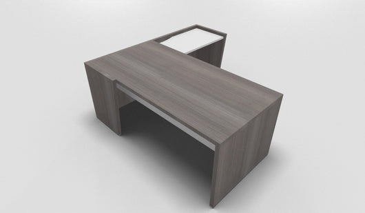 Select Straight Top Executive Desk with Return