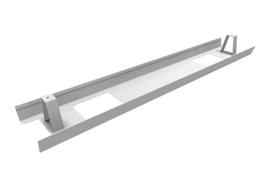 Single Metal Cable Tray for Office Desks