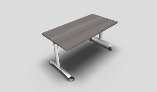 Solution Rectangular Fliptop Meeting Table