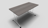 Solution Rectangular Folding Meeting Table