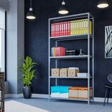 Steel static shelving - 4 , 5 or 6 Shelves, 2 widths, 2 depths - Price includes next day delivery to your door*