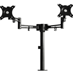 Strela double monitor arm