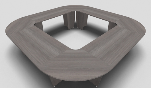 Succes Square Office Meeting Table