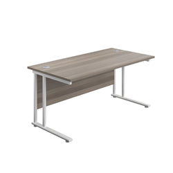 BOSs Range Rectangular Desks 800mm Deep with Twin Upright Cantilever Legs - Price Includes FREE Mainland UK Delivery