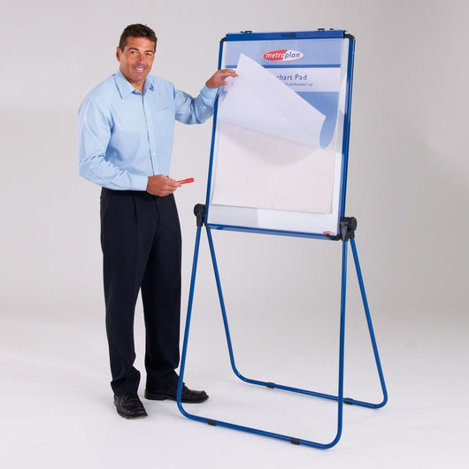 Ultimate Loop Leg Flipchart Easel and Magnetic Whiteboard
