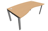 Astro Double Wave Top Office Desk