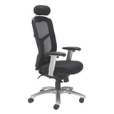 Fonz Task Chair with Mesh Back and Fabric Seat