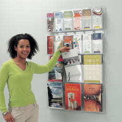 All Clear Literature Dispenser and Display in 5 Size Options