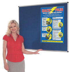 Aluminium Framed Felt Covered Noticeboard