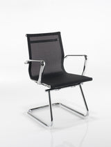 Breeze BMCA Medium Back Executive Visitors Chair in Black or White Mesh
