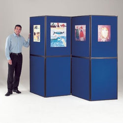 BusyFold Lightweight 10 Panel Folding Display System