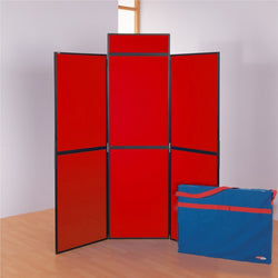 BusyFold Lightweight 6 Panel Folding Display System