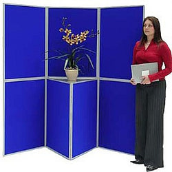 BusyFold Lightweight 7 Panel Folding Display System