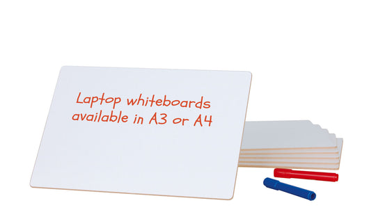 DryWipe Laptop Whiteboards 6 Pack