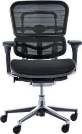 Ergohuman Ergonomic Mesh Chair in Black or Blue