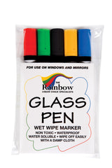 Glass Dry/Wetwipe Narrow Tip Pens