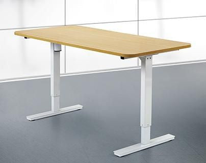 Height Adjustable Electric Powered Sit Stand Desk for Offices