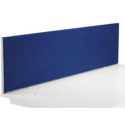 Magnum Upholstered Straight Desk Top Screen - Includes FREE Mainland UK Delivery