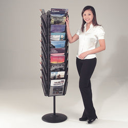 Mesh Freestanding Literature Dispenser
