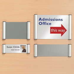 QuickSign Snap Fame Signage System with 5 Size Options