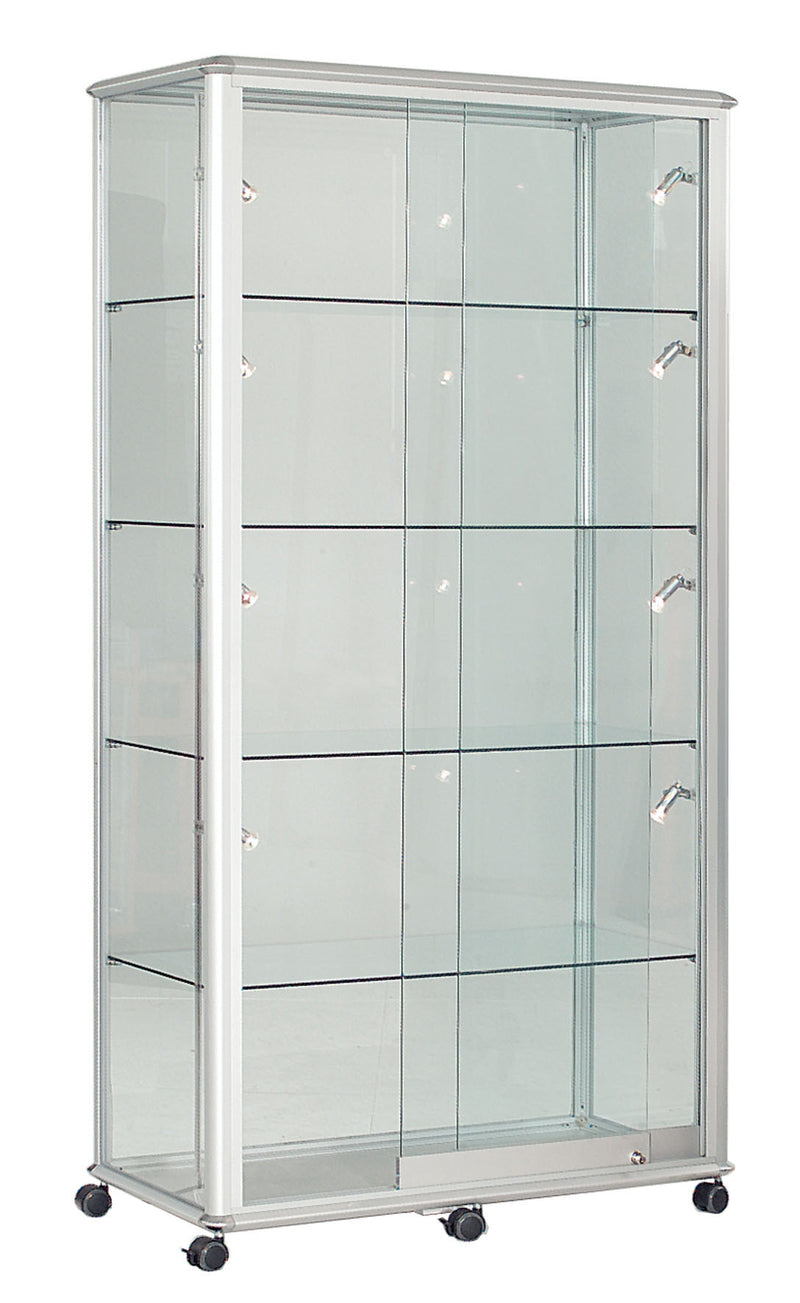 Shield Lockable Glass Display Case in 4 Colour Options – Bumsonseats