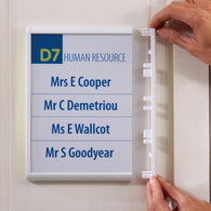 Showpoint Sign Frame Create Your Own Signs by Printing off Sheets on any A4 or A3 Printer