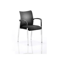 Academy Visitor Chair Black With or Without Arms